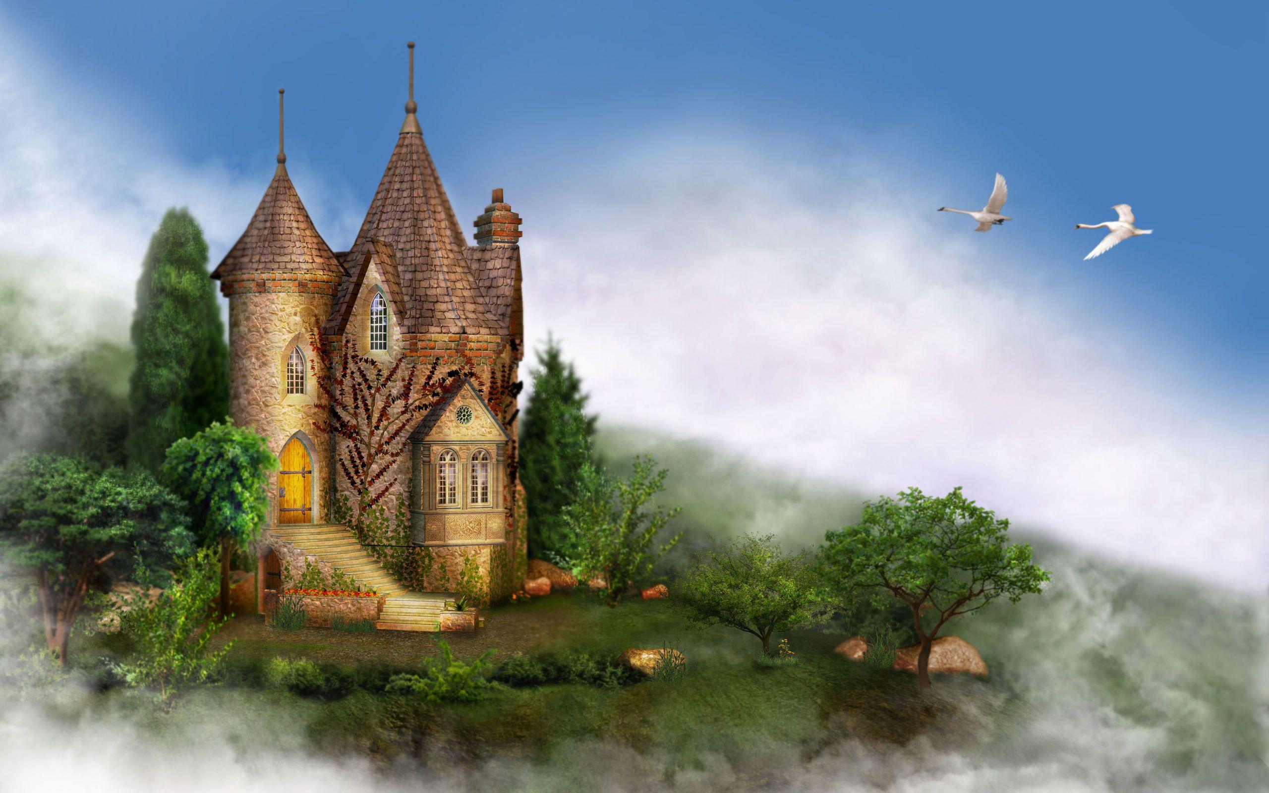 fantasy+castle+wallpapers