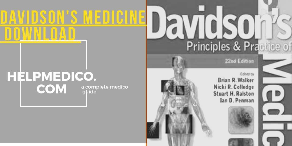 FREE DAVIDSON MEDICINE EPUB DOWNLOAD