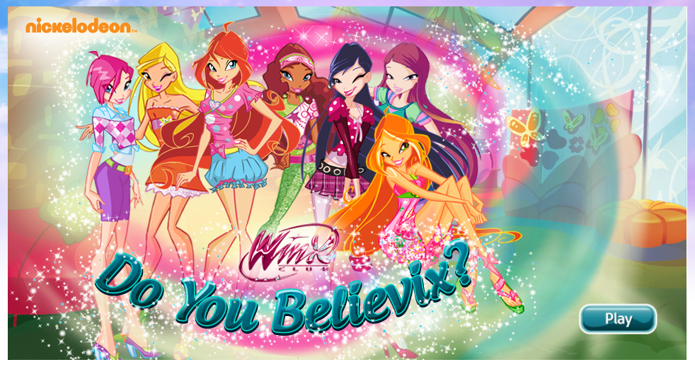 Winx Club Nick Games Do You Believix | Games World