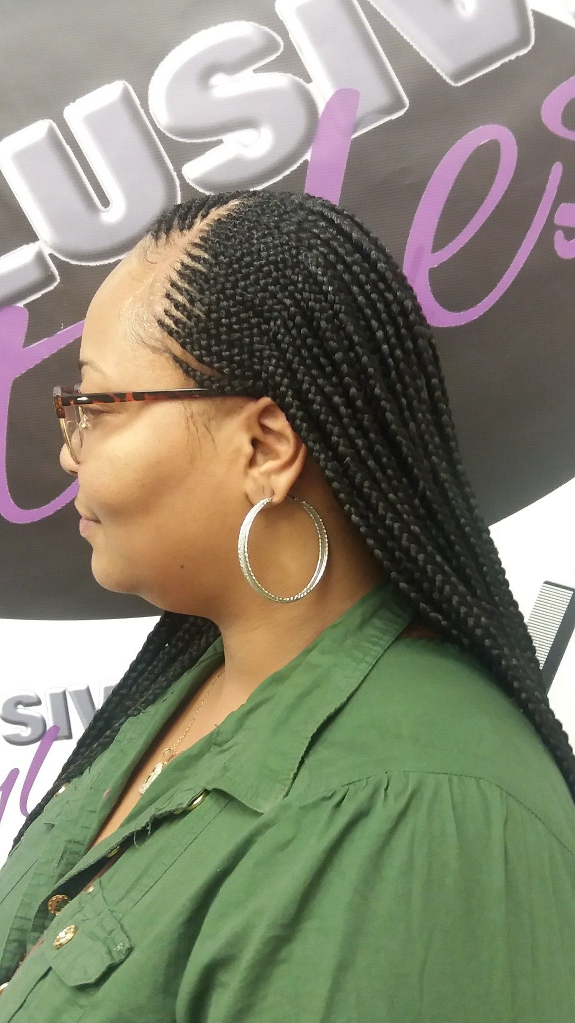 Extended 2 Feedin Close Together Layers Hair Styles My Hair Braids
