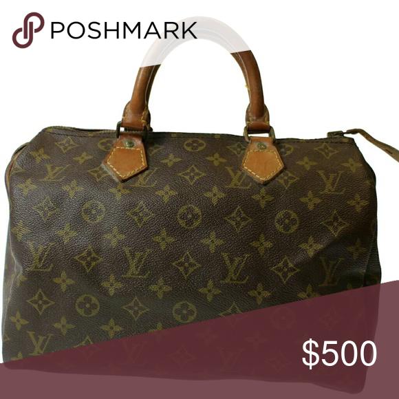 8ccc104bdf37 Authentic Louis Vuitton Speedy 30 Vintage LV Speedy 30 great condition!! Louis  Vuitton Bags