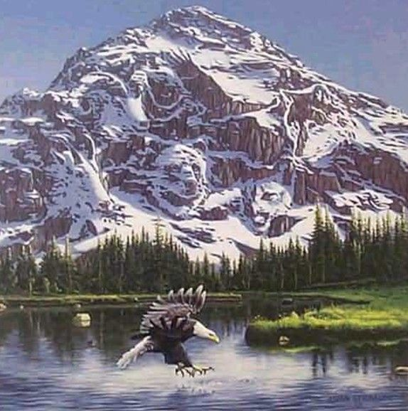 www.health-gossip.com What do you see mountain or animals ? #optical #illusion