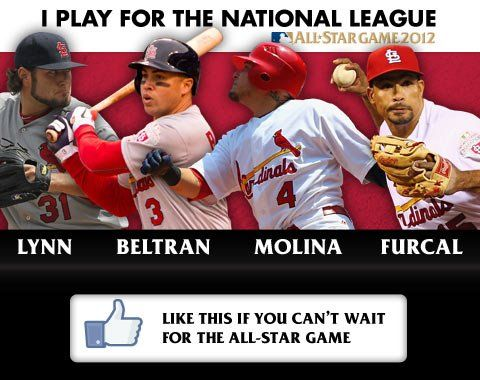 The Cardinal All-Stars, soon to be joined by David Freese.