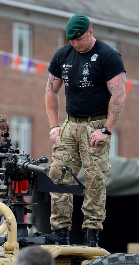 RoyalMarineChallenge @RM1664Challenge · Jun 8 Afghan vehicle demonstration Royal Marine style #Truro thank you for looking after 42 Commando & the 1664 Challenge