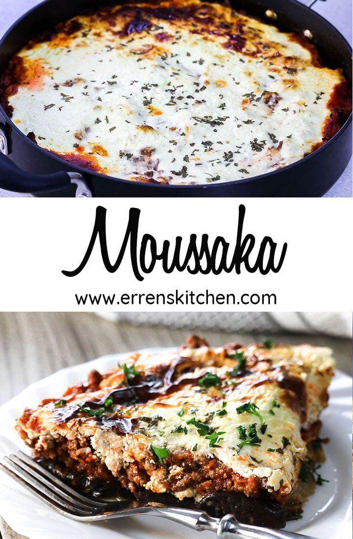 Moussaka Recipe Greek Recipes Recipes Lamb Recipes