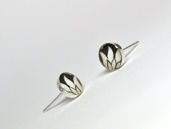 Ordering these $20.00 Lotus flower studs from #etsy