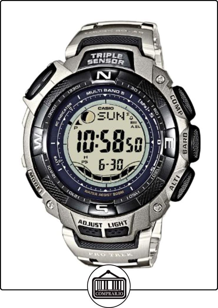 37ed0b2f6433 CASIO Sport Pro Trek PRW-1500T-7VER - Reloj unisex de cuarzo