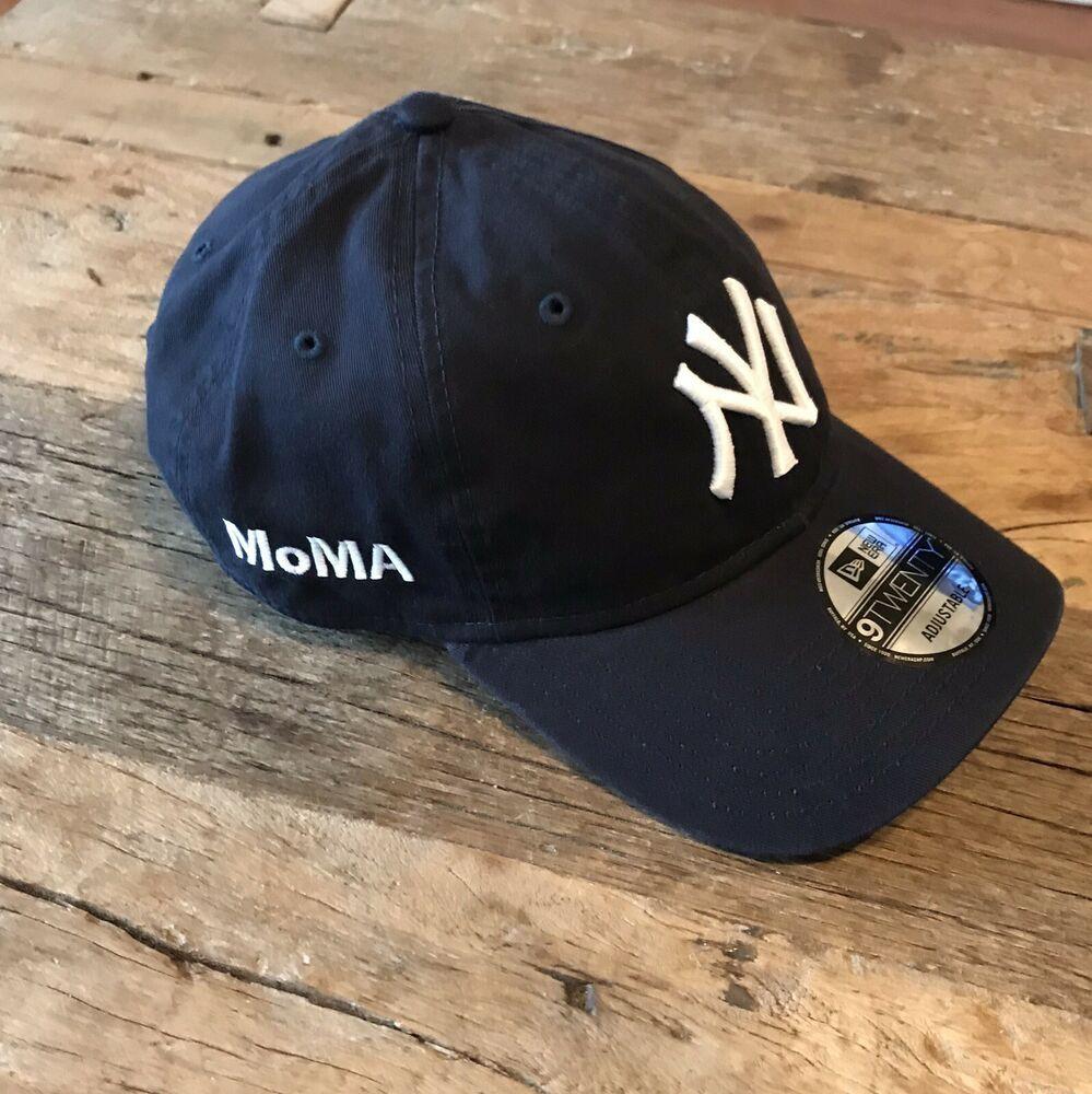281948a8b1b9fe NEW ERA MoMA NY Yankees 59 FIFTY Hat - Limited Edition Baseball Cap - Blue #