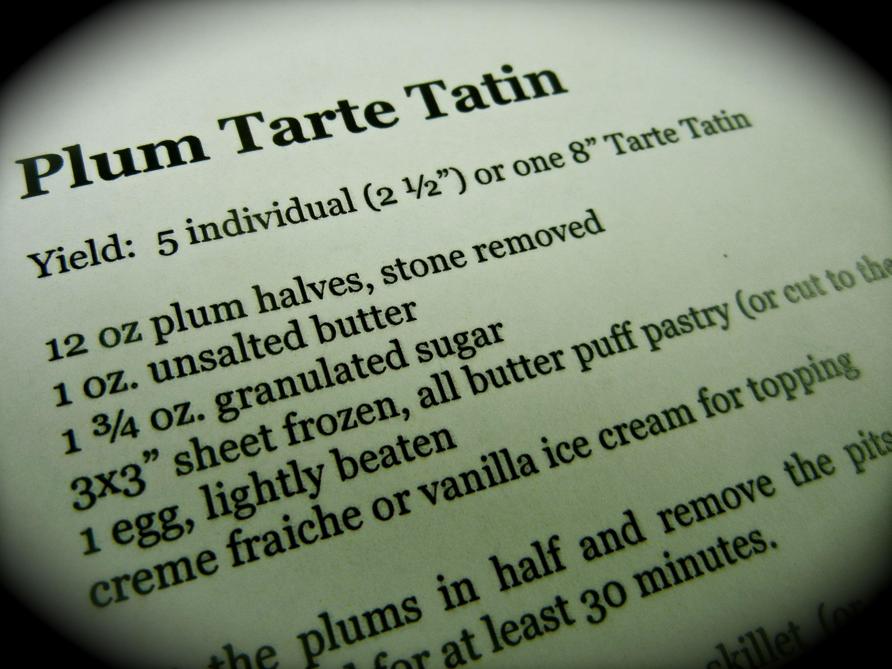 Plum Tarte, simply tasty!