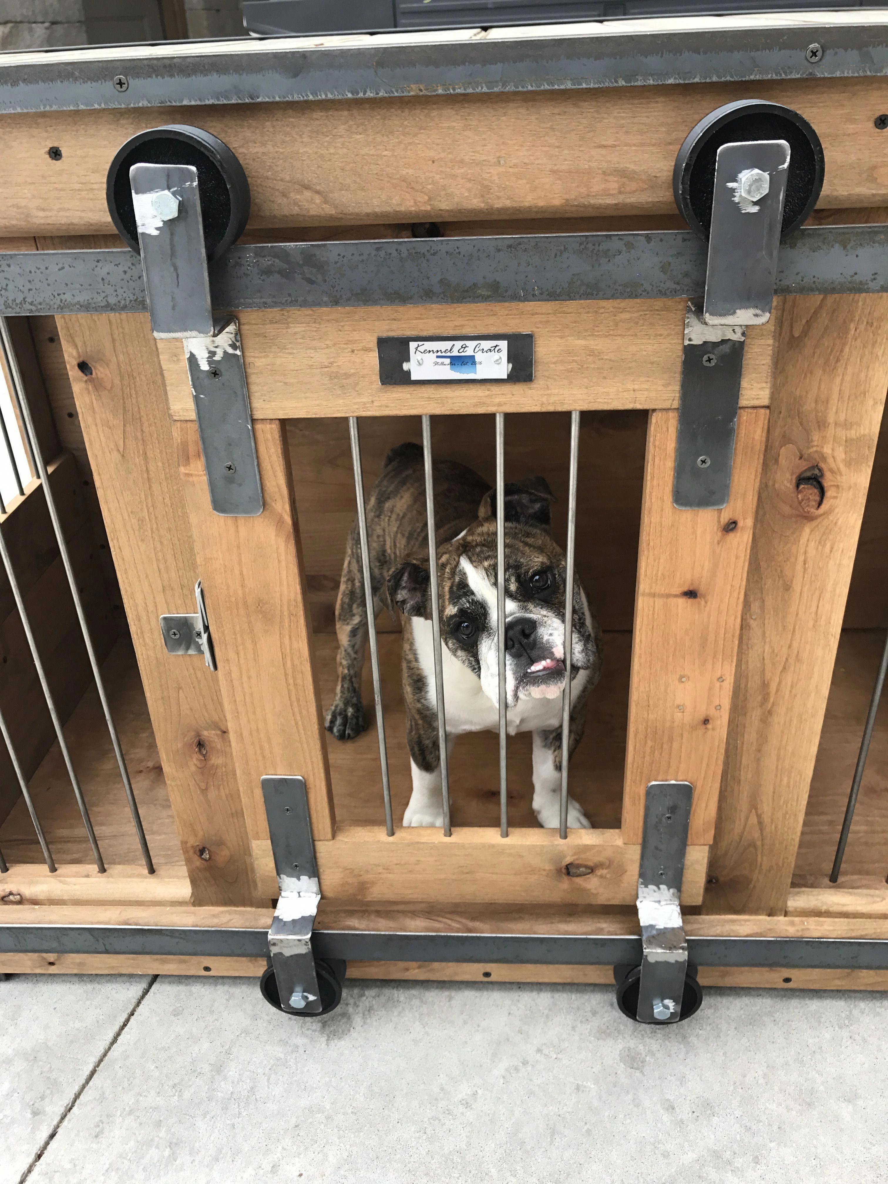 Dog Areas In House Garage Dogareasinhousegarage Luxury Dog Kennels Dog Crate Dog Kennel Cover
