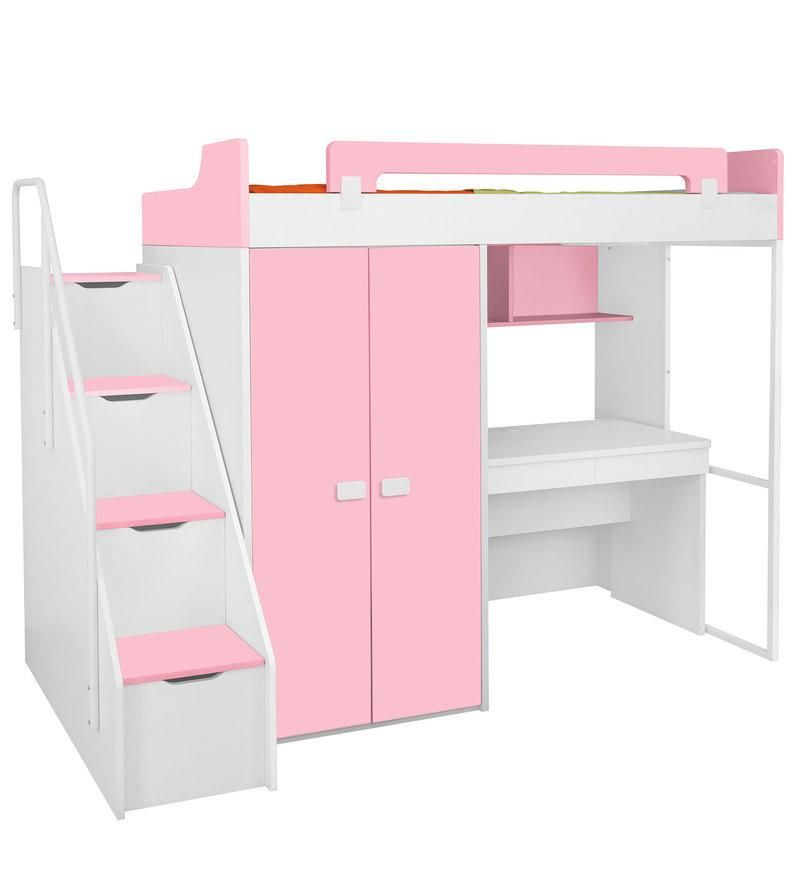 Best Kids Bunk Bed With Wardrobe And Study Table Lillyput 400 x 300