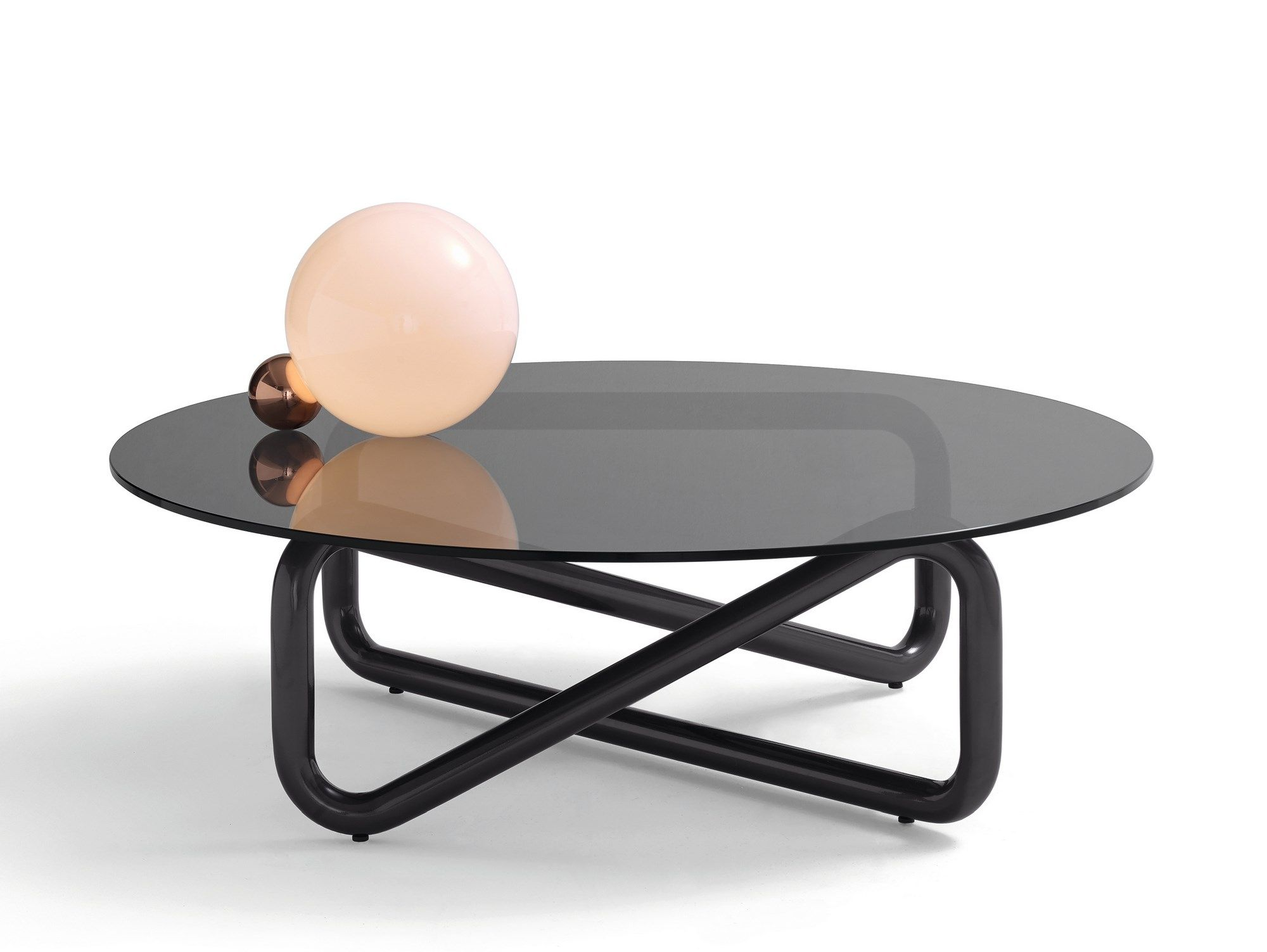 Arflex Infinity Low Glass And Steel Coffee Table For Living Room Design By Claesson Koivisto Rune Coffee Table Design Coffee Table Dining Table Decor [ 1503 x 2000 Pixel ]