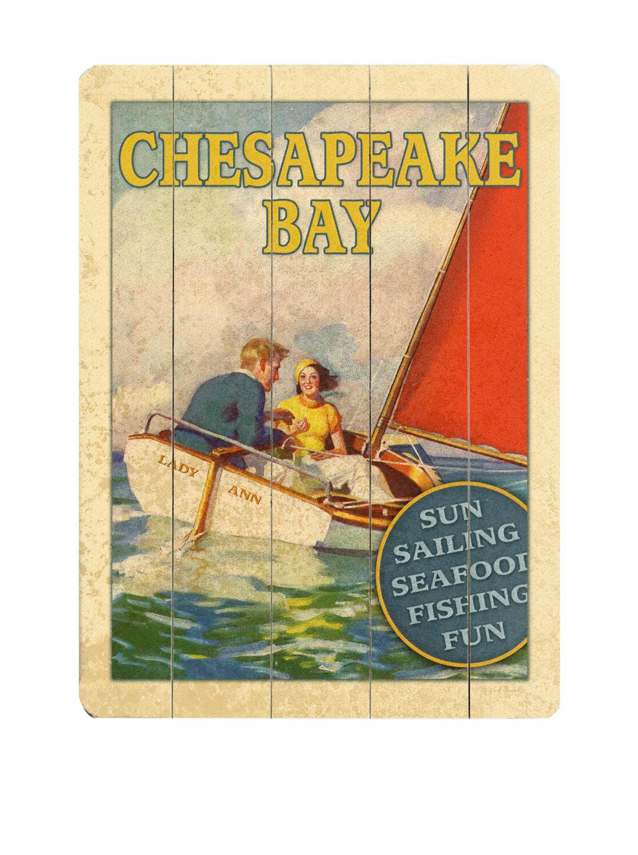 ArteHouse Chesapeake Bay Wood Wall Decor