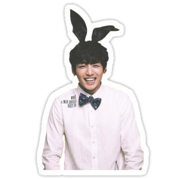 Bunny Jungkook Bts Sticker By Emma Keenan En 2019