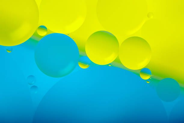 water oil abstract background