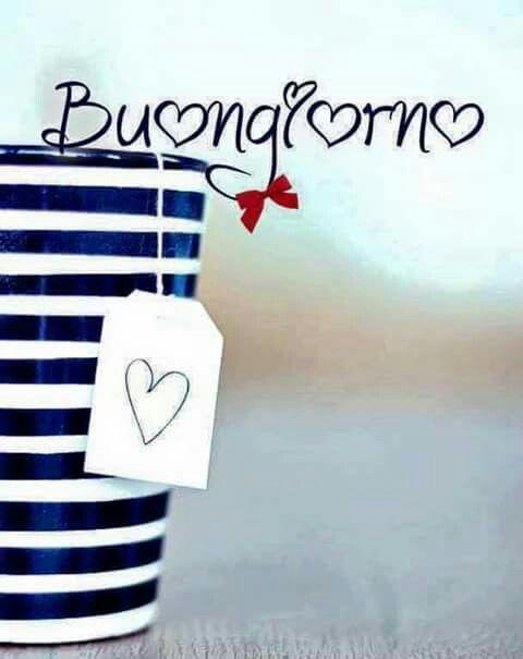 Buongiorno Amore Mio Yellowblue Il Vale Em Italiano