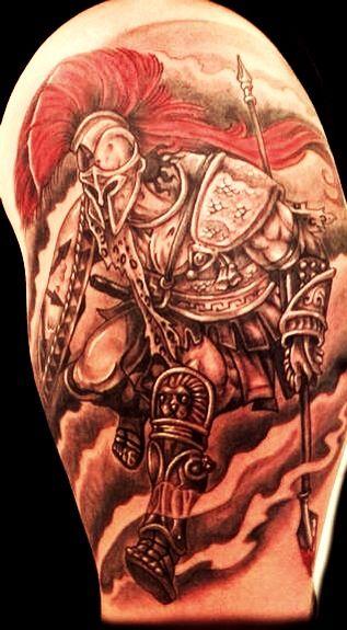 Warrior Tattoo | Warrior tattoo, Warrior tattoos, Spartan ...