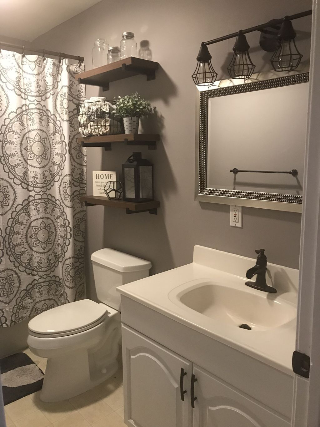 20 Hottest Small Bathroom Remodel Ideas For Space Saving Brown