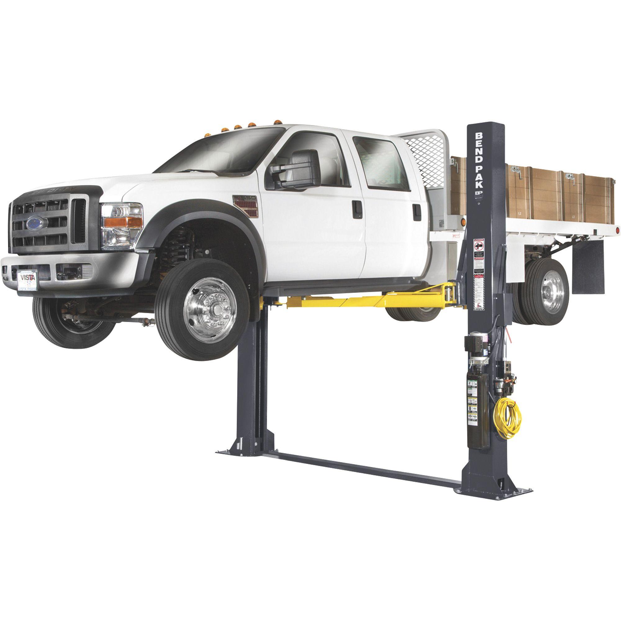 Bendpak Floorplate 2 Post Truck And Car Lift 12 000 Lb Capacity Model Xpr 12fdl Lifted Trucks Chevy Trucks Diesel Trucks