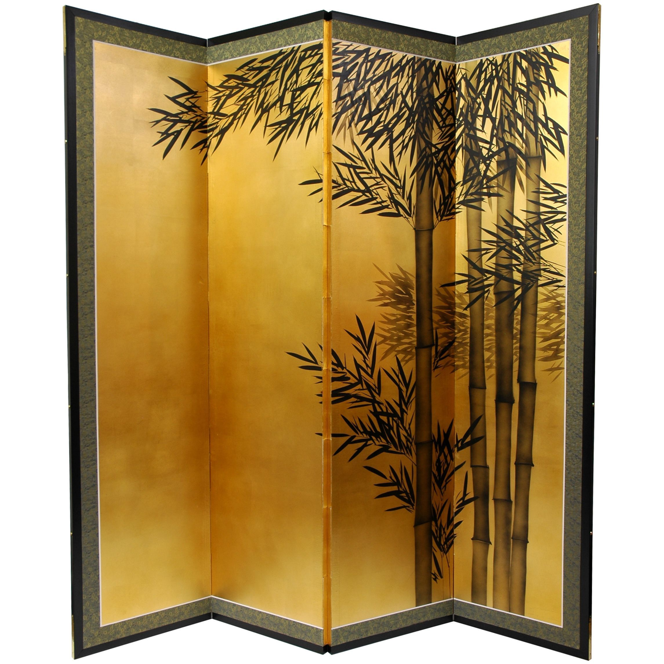 Leaf Bamboo Silk Painting