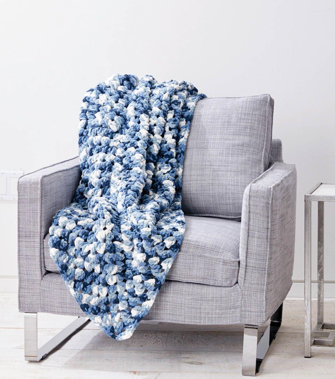 Bernat Blanket- Go Granny Go! Crochet Afghan | Crochet with JOANN ...