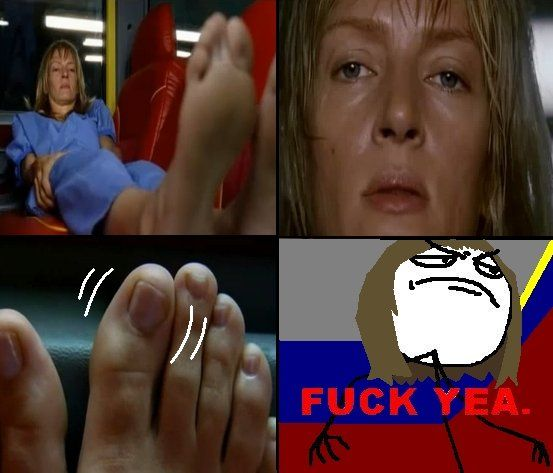 Wiggle your big toe. Kill Bill