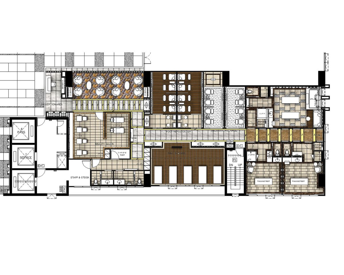 Spa Floor Plan Hotel Pinterest Floor Plans Spas And