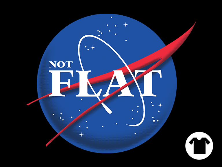 Not Flat by OmarFeliciano in 2020 Nasa missions, Nasa