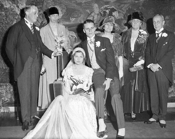 At The 1905 Wedding Of Franklin And Eleanor Roosevelt President