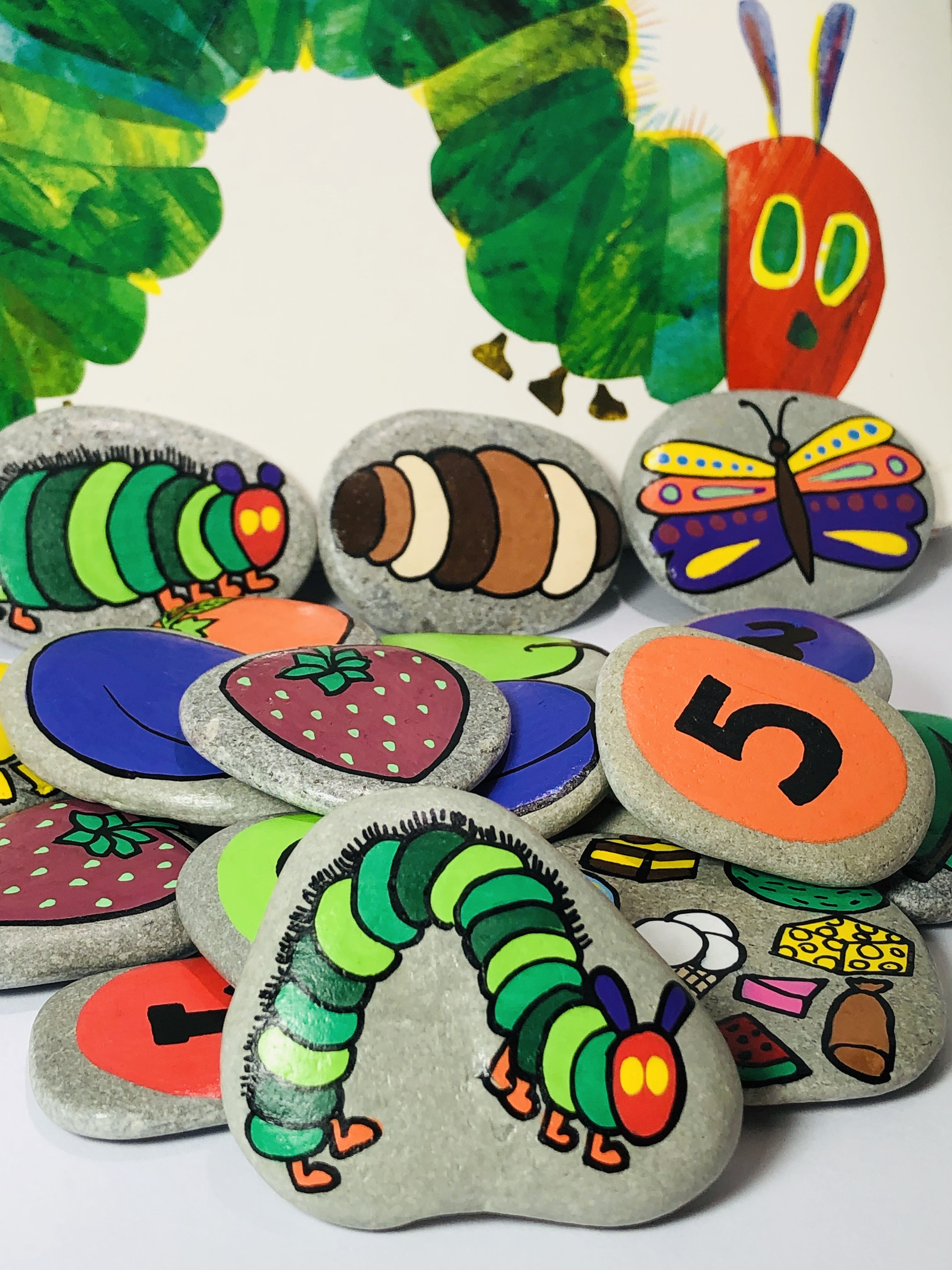 Montessori Math Toy Hungry Caterpillar Christmas T For