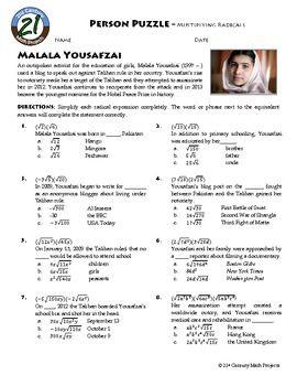 Dividing Radical Expressions Worksheet Multiplication Of ...