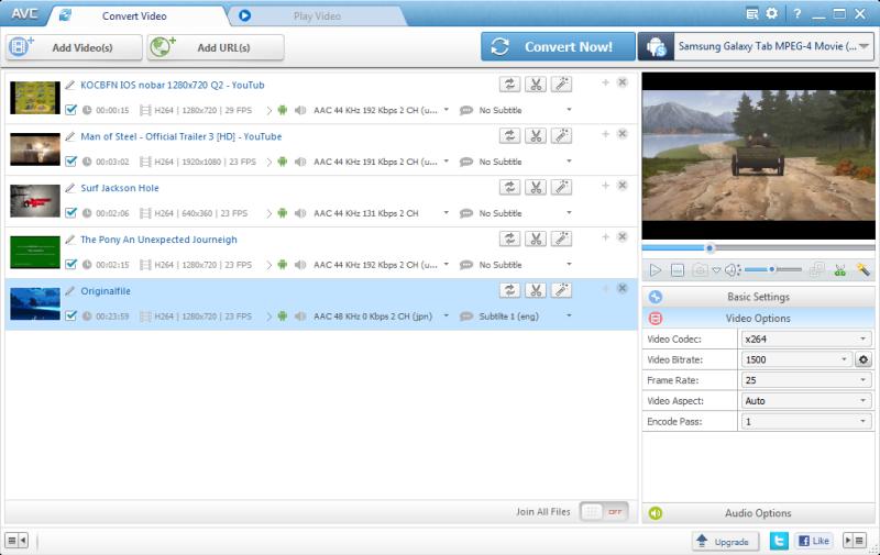 Any Video Converter Free 5 5 6 Ucretsiz Video Indirme Ve Donusturme Programi Video Converter Download Video
