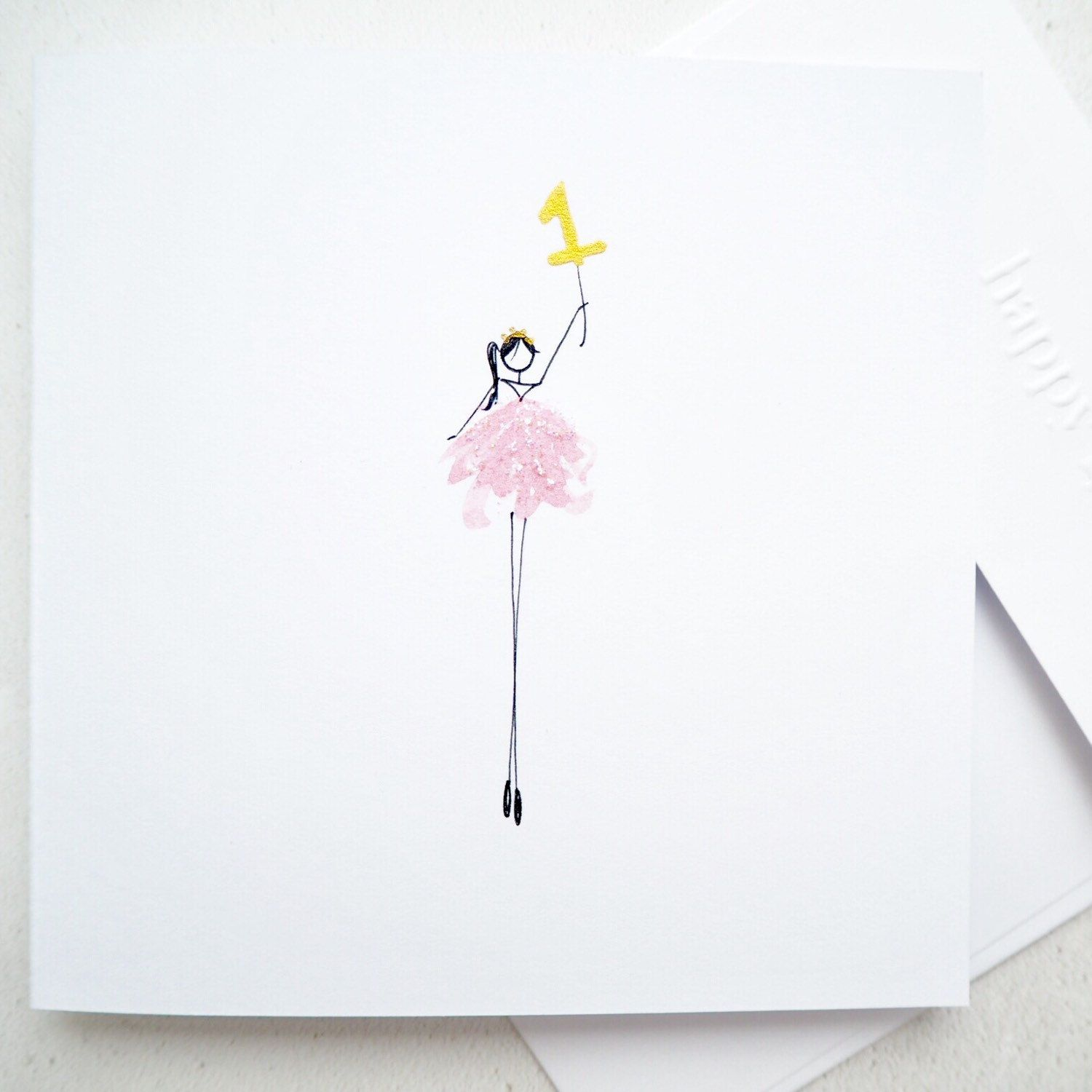 Celebrate a special little girls first birthday Card ideas