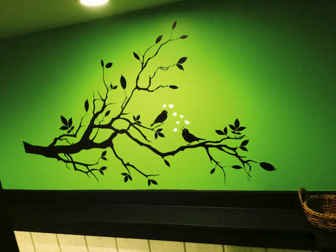 Decals can transform a wall cheaply, easily | Planit Northwest