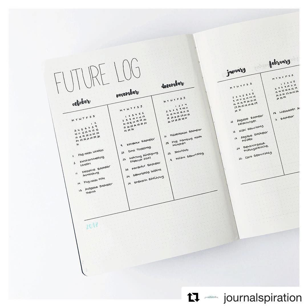 See this Instagram photo by @bulletjournal • 3,560 likes