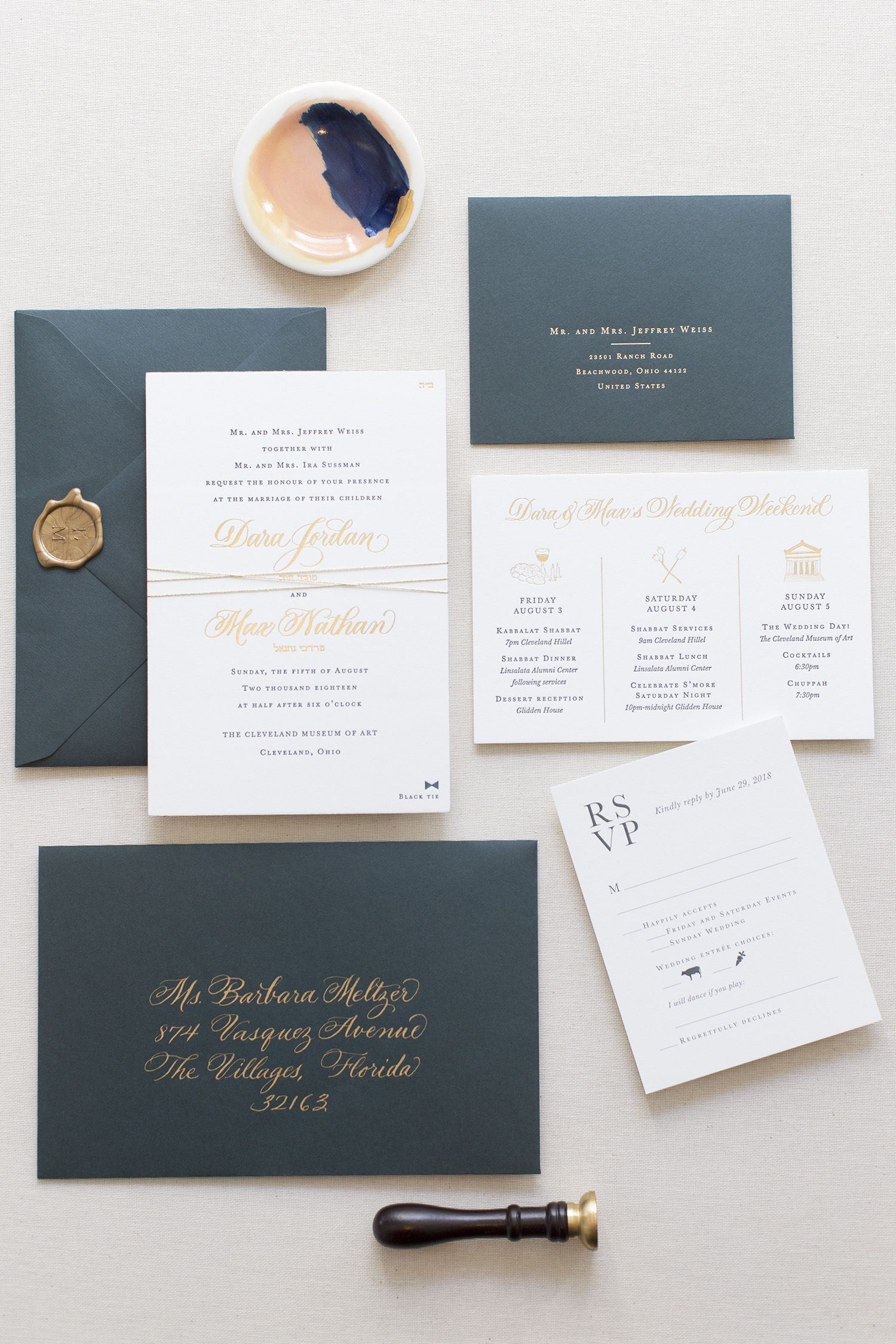 Fourteen Forty Is A Wedding Invitation Design Studio Located In New