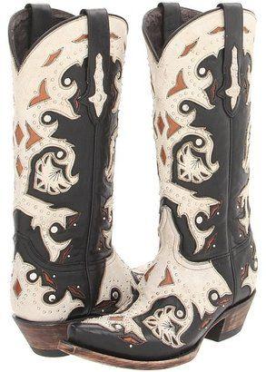 ShopStyle: LuccheseM5016 (Studded Scarlette Black) - Footwear