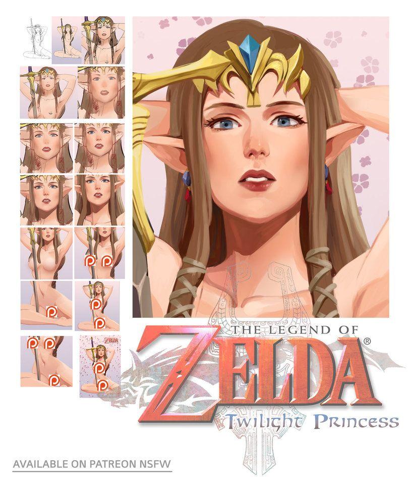 zelda naked