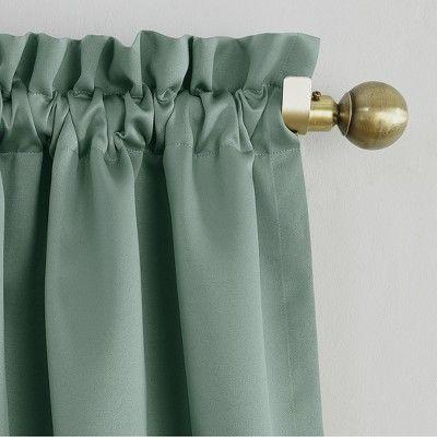 Seymour Energy Efficient Rod Pocket Curtain Panel Mineral 54 X63