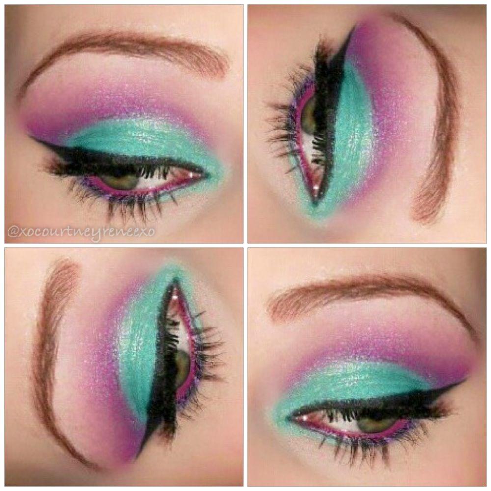 This Look Was Created Using Honeyxo Cosmetics Kitty And Hawaiian