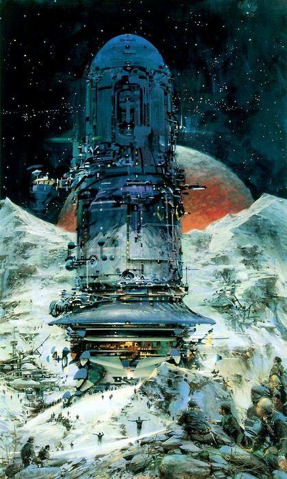 John Berkey / Tumblr | Sci fi art, 70s sci fi art, Science ...