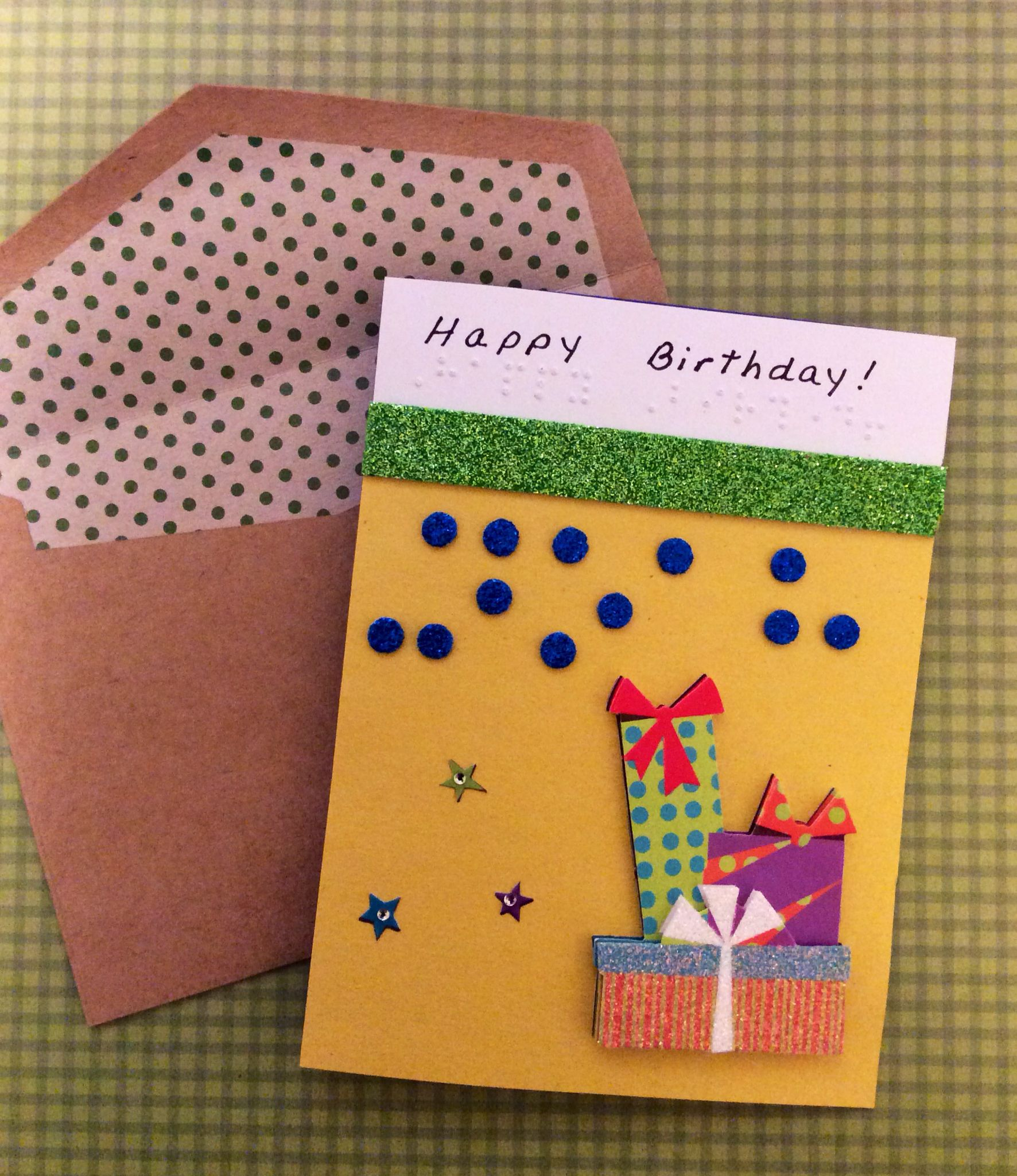 Say Something Special With Personalized Braille Birthday