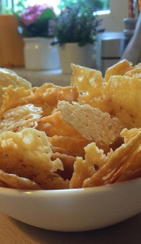 Photo of Käse-Chips  Perfektes Naschzeugs!