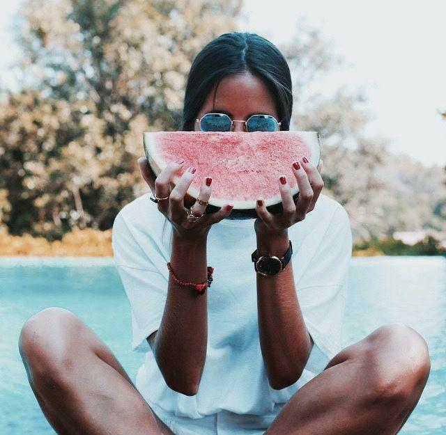 Watermelon invisible girl