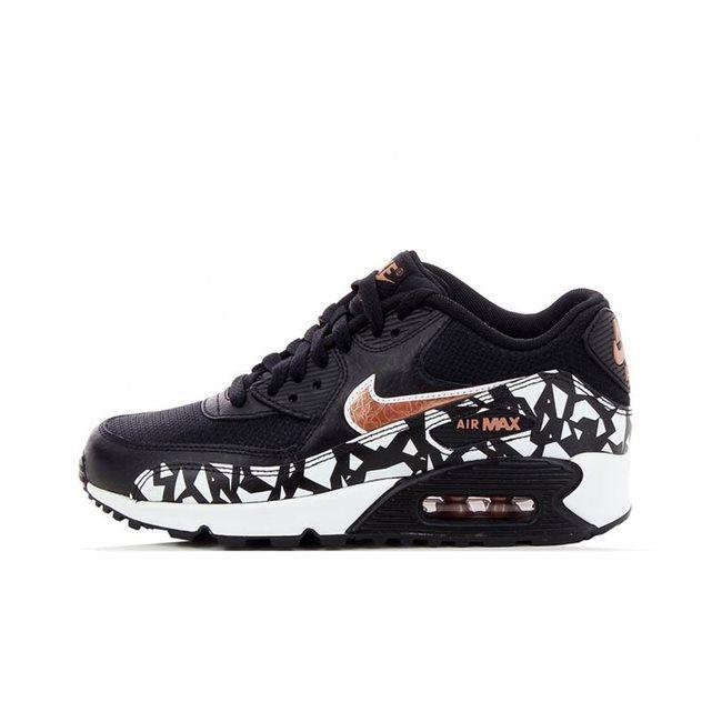 on sale 15571 2dc74 Basket Nike Air Max 90 FB (GS) - 705392-003 Mes prochaines c