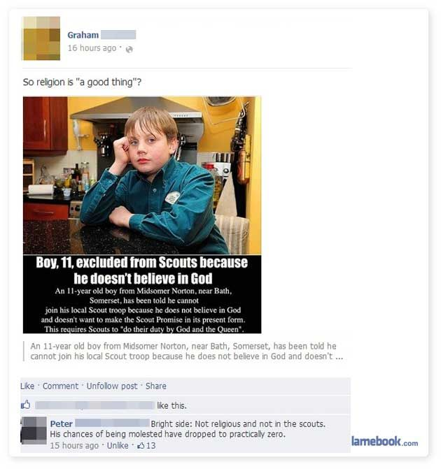 Awful Story Hilarious Comment