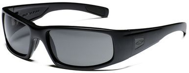 667b5eca25 Smith Elite Hideout Tactical Ballistic Sunglasses with Black Frame and Gray  Lens