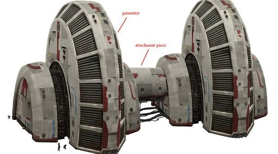 hoth main power generators - need to turn this into a bookshelf or