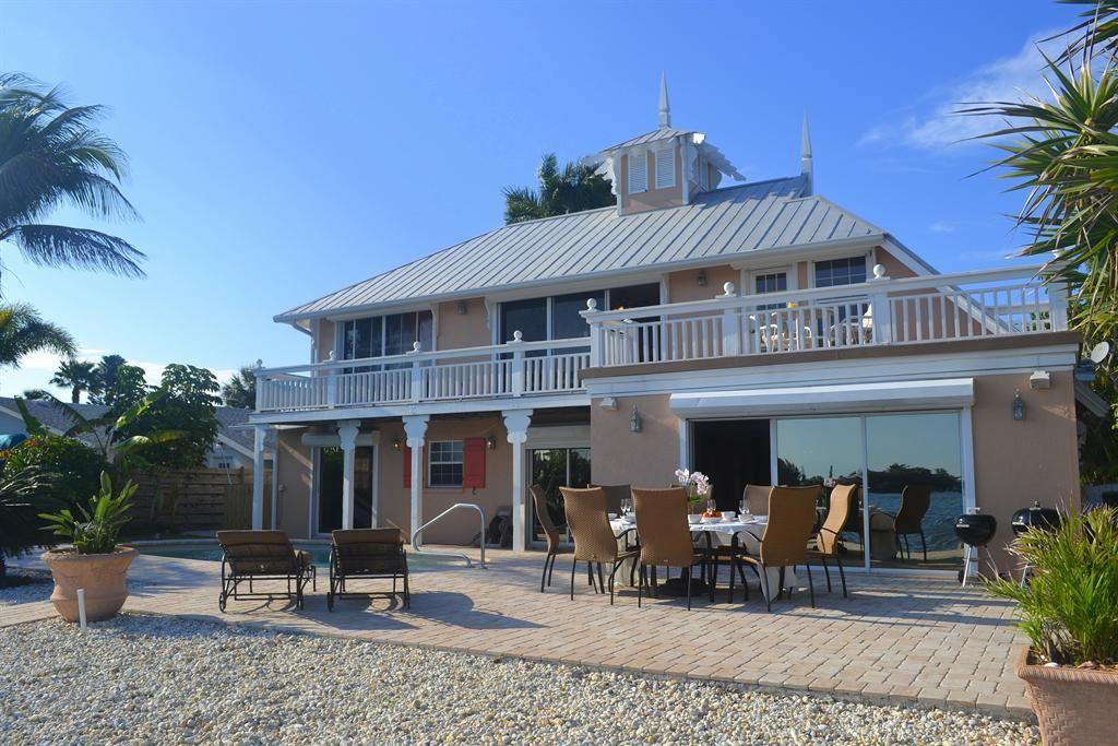 Holiday House in Anna Maria Island, Florida Gulf of Mexico, USA