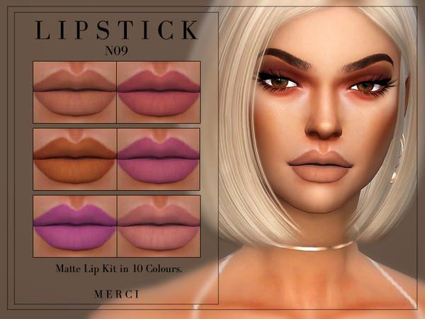 Merci's Lipstick N09 Lipstick, Matte lips, Lip kit